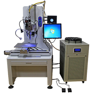 Automatic 4 Axis CNC Fiber Laser Welding Machine For Steel Automatic Laser Welding Applications